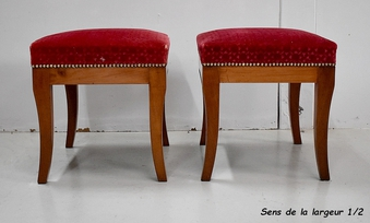 Antique FRENCH DIRECTOIRE PERIOD STOOLS