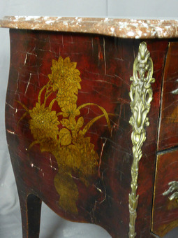 Antique LOUIS XV STYLE CHEST OF DRAWERS