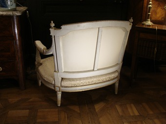 Antique NAPOLEON III PERIOD ARMCHAIR