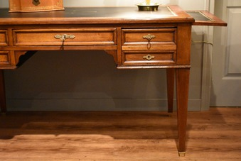 Antique LOUIS XVI STYLE FLAT TOP DESK