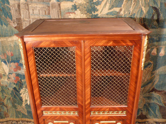 Antique NAPOLEON III PERIOD DISPLAY CABINET