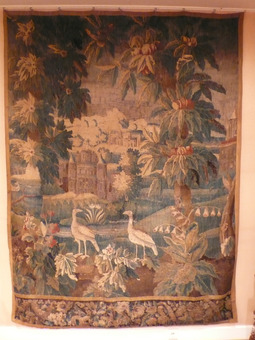 Antique 18th CENTURY AUBUSSON TAPESTRY