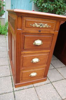 Antique PEDESTAL DESK