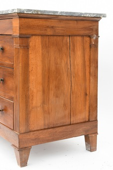 Antique FRENCH EMPIRE STYLE CHEST OF DRAWERS