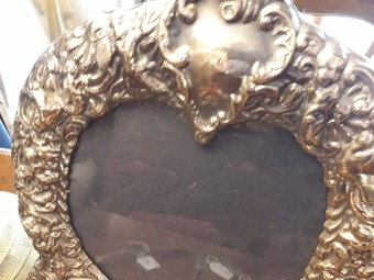 Antique ENGLISH PHOTO FRAME