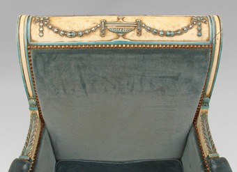 Antique 19th CENTURY FRENCH CHAISE LONGUE