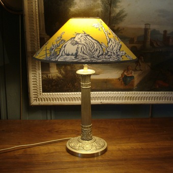 Antique 19th CENTURY FRENCH LAMP