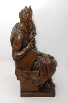 Antique PLASTER SCULPTURE OF MOSES