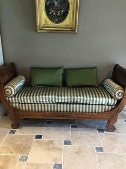 Antique LOUIS PHILIPPE PERIOD CHAISE LONGUE
