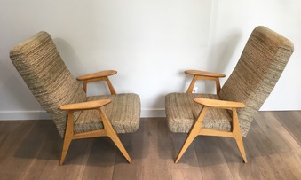 Antique PAIR OF ARMCHAIRS