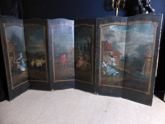 Antique 19th CENTURY SCREEN
