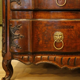 Antique 18th CENTURY FRENCH PROVENCAL CHEST OF DRAWERS