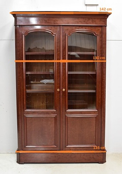 Antique MAHOGANY BOOKCASE