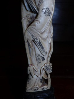 Antique circa period XIX th original statue china feng shui chinese