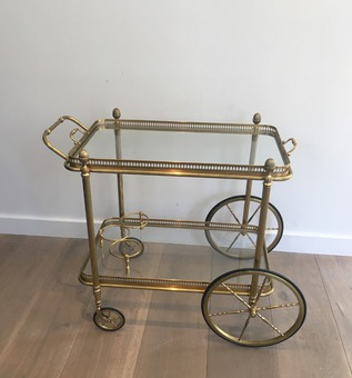 Antique BAGUES TROLLEY TABLE