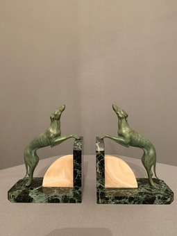 Antique ART DECO PERIOD BOOKENDS