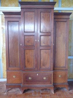 Antique wardrobe closet wardrobe italy xix eme mahogany