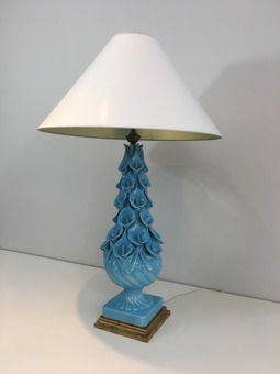 Antique CERAMIC LAMP
