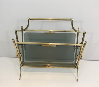 Antique JANSEN PAPER RACK