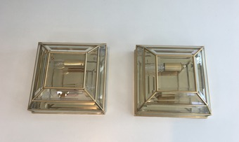 Antique PAIR OF WALL OR CEILING LIGHTS
