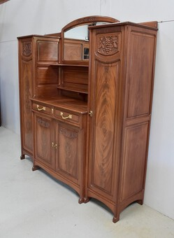 Antique ART NOUVEAU PERIOD CABINET