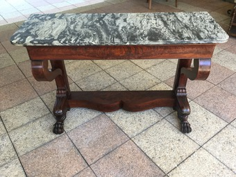 Antique FRENCH RESTAURATION PERIOD CONSOLE TABLE