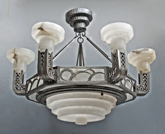 Antique ART DECO PERIOD LIGHT