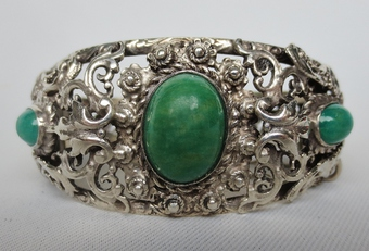Antique 19th CENTURY SILVER BRACELET