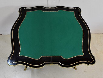 Antique NAPOLEON III PERIOD CARD TABLE