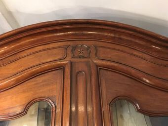 Antique 18th C WALNUT ARMOIRE LOUIS XV STYLE