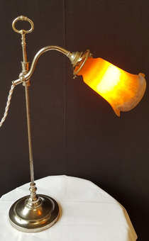 Antique ART NOUVEAU STYLE LAMP