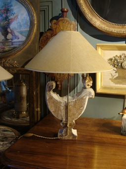 Antique Pair Of 18th Lamps