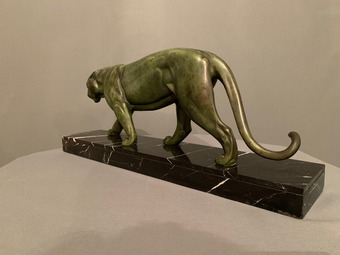 Antique ART DECO PERIOD PANTHER