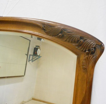 Antique ART NOUVEAU STYLE MIRROR