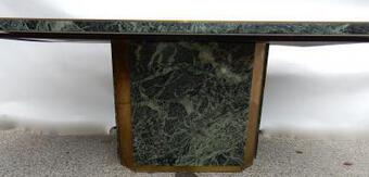 Antique 1970 'Jean Claude Mahey For Paco Rabanne Table Dining Room 220 X 112 cm