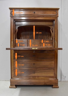 Antique 19th CENTURY  SECRETAIRE