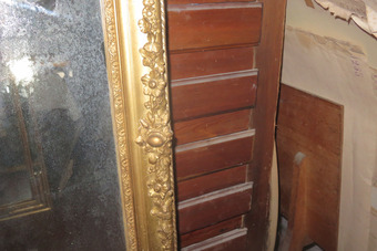 Antique 19th CENTURY  FRENCH MIRROR