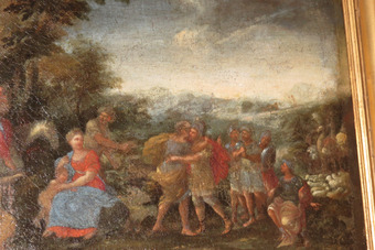 Antique 18th CENTURY PAINTING
