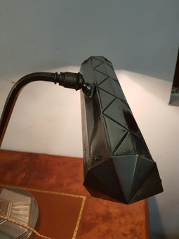 Antique ART DECO PERIOD PIANO LAMP