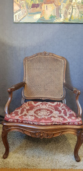 Antique LOUIS XV PERIOD ARMCHAIR
