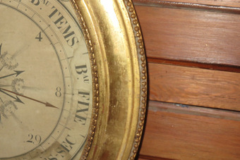 Antique 19th CENTURY BAROMETER