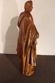 Antique 18th CENTURY STATUE OF THE VIRGIN MARY