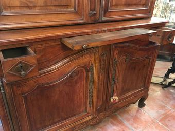 Antique 18th CENTURY HIGH BUFFET