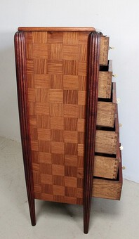 Antique ART DECO PERIOD CHEST  OF DRAWERS