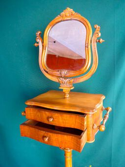 Antique BARBER MIRROR