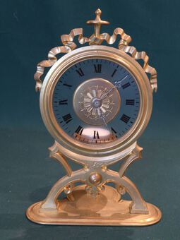 Antique NIGHT LIGHT CLOCK