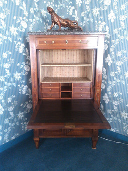 Antique LOUIS XVI STYLE SECRETAIRE
