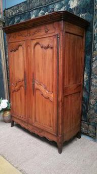 Antique 18C.thFench country marriage armoire