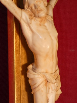 Antique 18th CENTURY CARVED CHRIST
