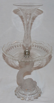Antique BACCARAT TABLE PIECE